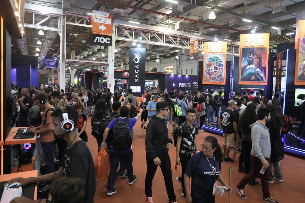 jogos nacionais também atraem público no bgs 2019