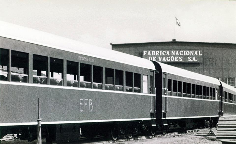primeira fábrica de vagões ferroviários do país ganha exposição