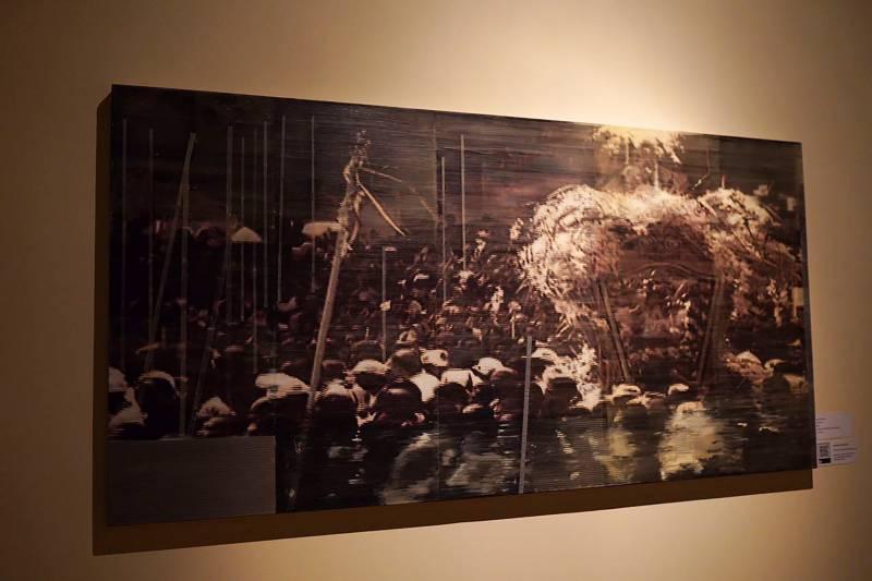 instalação imersiva sobre o círio é tema de exposição na estação 4