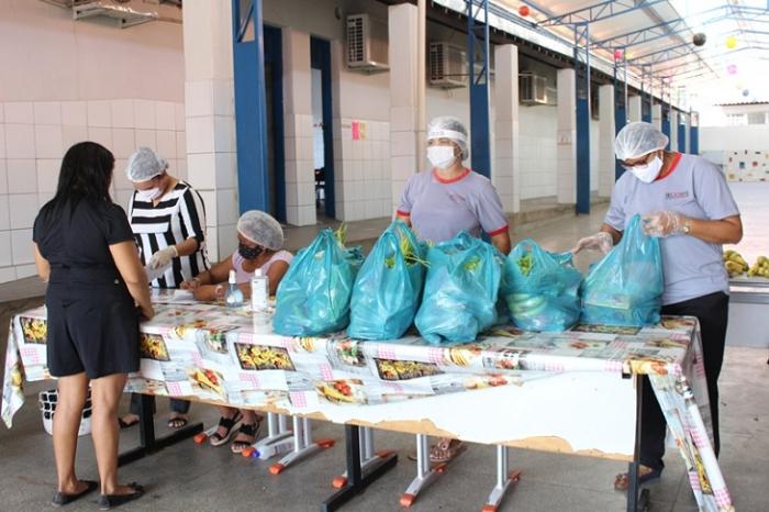 semcaspi retoma distribuição de cestas básicas no piauí